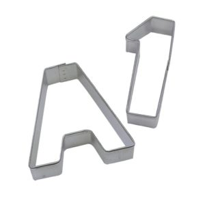ABC's & 123's Cookie Cutters