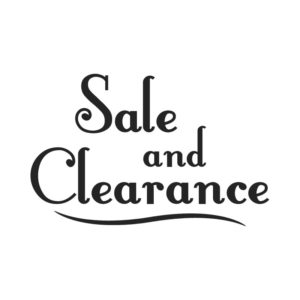 Sale ~ Clearance